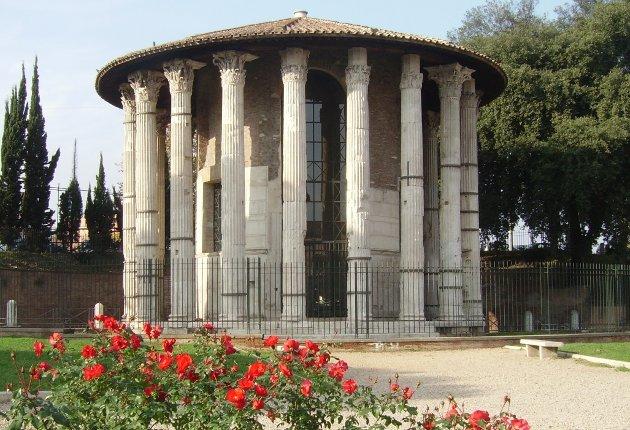 tempio di ercole vincitore roma pietas