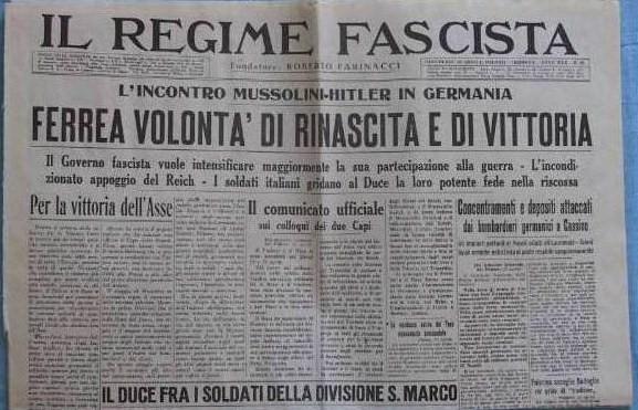 Il Regime Fascista, rivista cremonese di Roberto Farinacci