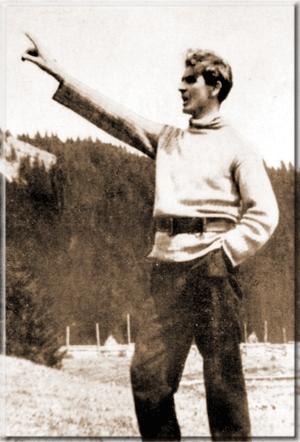 Il primo incontro con Codreanu avvenne nel 1936, come ricostruito da Claudio Mutti
