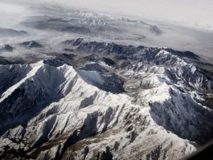 Montagne dall'alto