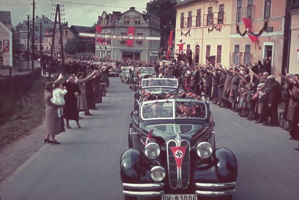 Un villaggio di Sudeti, nel giorno dell'annessione tedesca