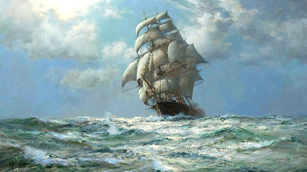 storia di una nave-acque-navigare-mare