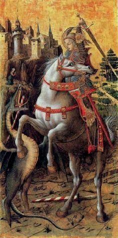 san giorgio e il drago cristianesimo evola guerra santa tradizione razza