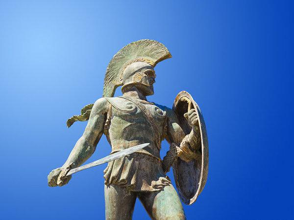 Leonida-Sparta-Grecia-Lacedemone-razza-guerriero