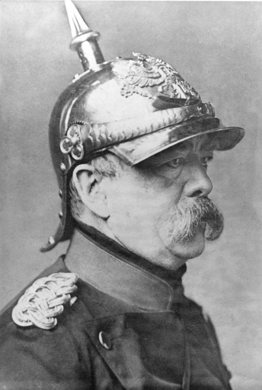 Il cancelliere tedesco Otto von Bismarck, maestro della Destra
