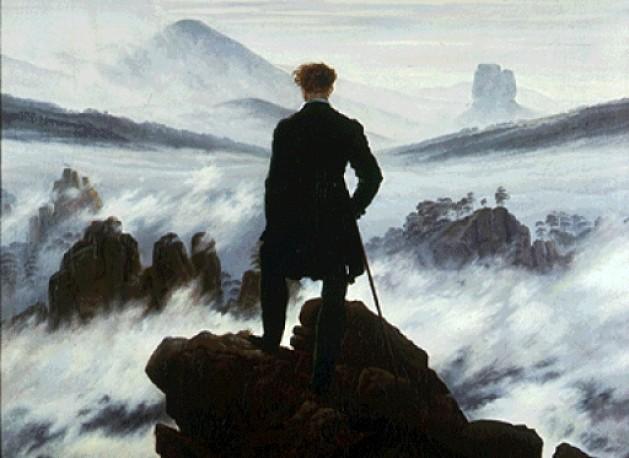 viandante-mare-di-nebbia-titanismo-rivolta