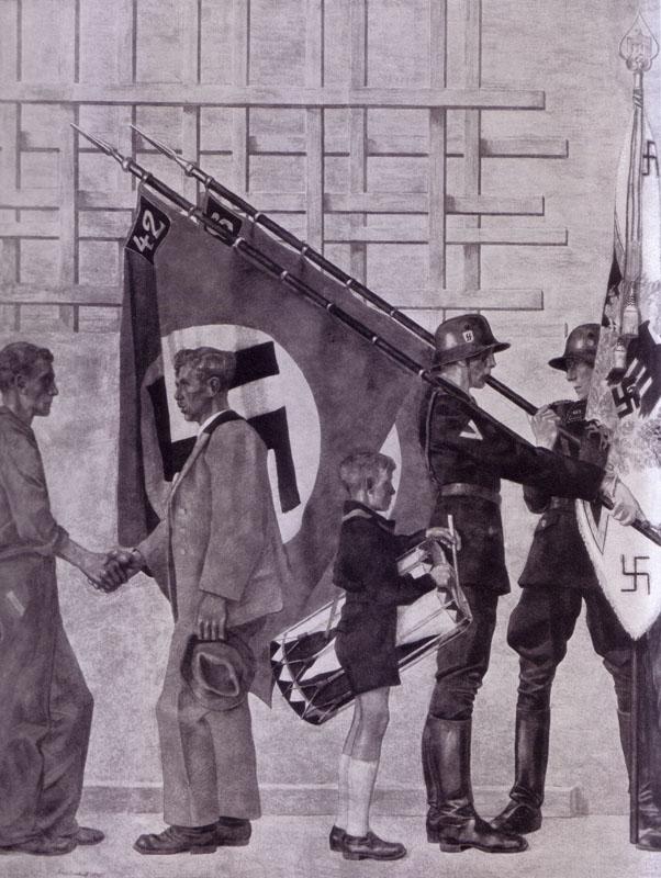 franz-eichhorst-anschluss-der-ostmark-particolare-nazionalsocialismo