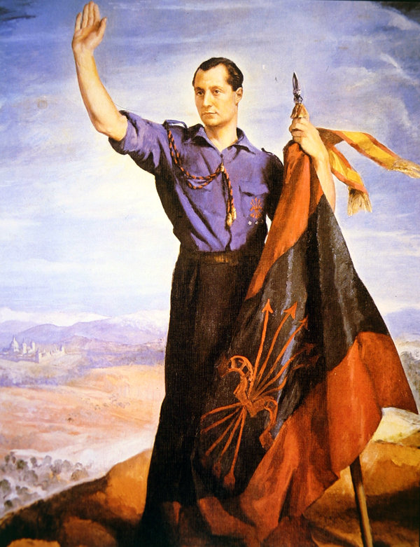Josè Antonio Primo de Rivera, fondatore della Falange Spagnola