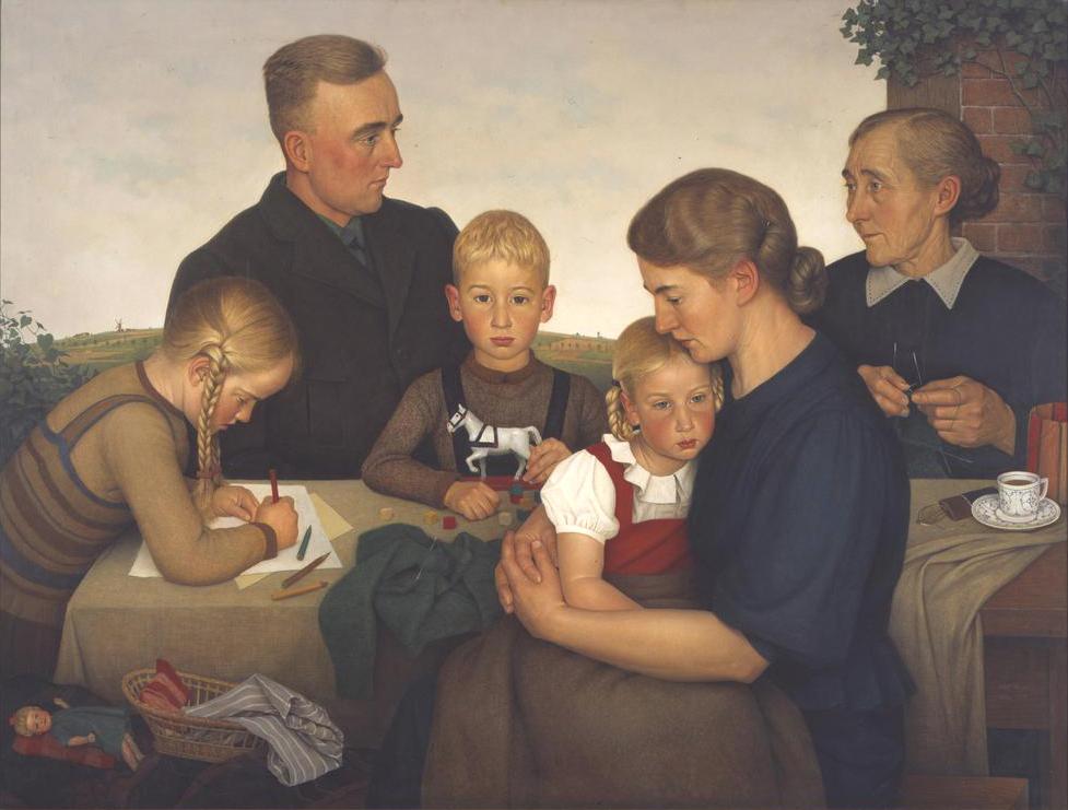famiglia - Kahlenberger Bauernfamilie (Adolf Wissel, 1939)