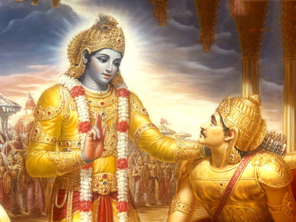 Bhagavad-gita-Arjuna-Karma-Yoga