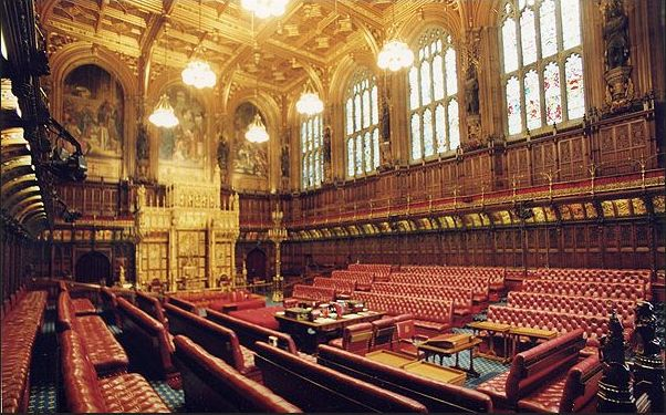 monarchia-camera dei lords