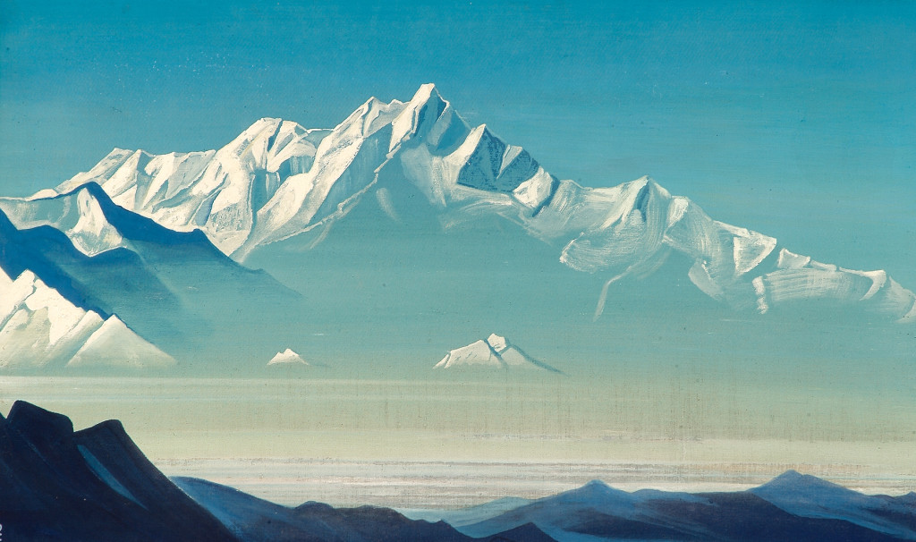mount-of-five-treasures (two worlds) 1933 roerich montagna