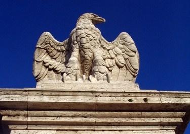 Aquila ponte Flaminio