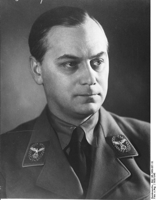 Alfred Rosenberg, teorico del razzismo nazionalsocialista