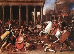 Nicolas Poussin- La distruzione del Tempio di Gerusalemme
