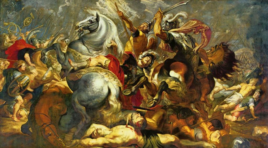 La morte di Decio Mure, condottiero romano esempio di Devotio e di Mors Triumphalis