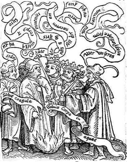 Turba Philosophorum esoterismo solve et coagula
