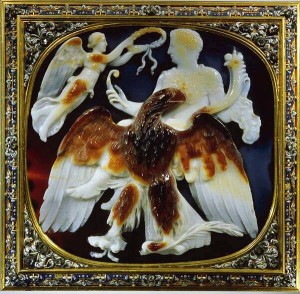 Apoteosi di Claudio julius evola volare simbolo aquila