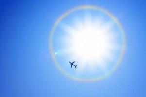 Airplane Sun Evola Julius Ala Littoria