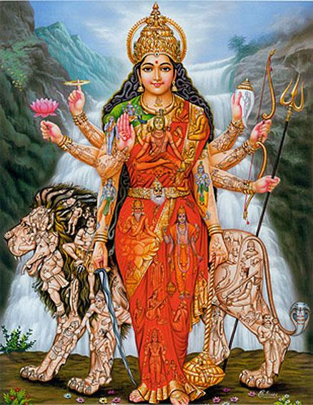 Devi Parvati  Maha Maya  induismo