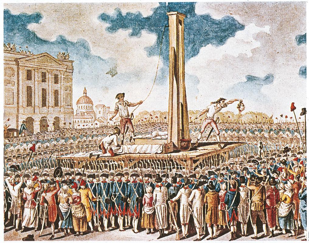 rivoluzione francese-ghigliottina-pensiero unico