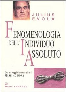 fenomenologia dell'individuo assoluto-evola