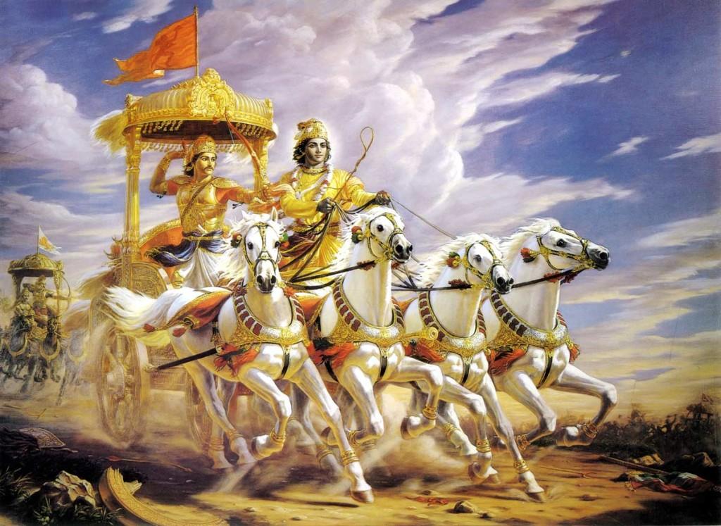 Bhagavad Gita-kshatriya-krsna-arjuna