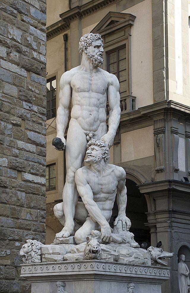 ercole e caco (Baccio Bandinelli)