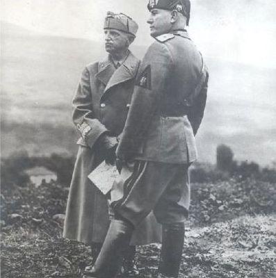 Mussolini-Vittorio Emanuele