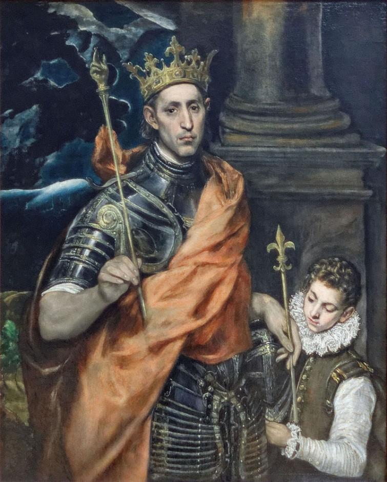 monarchia-Luigi IX di Francia (El Greco) 1590-1600