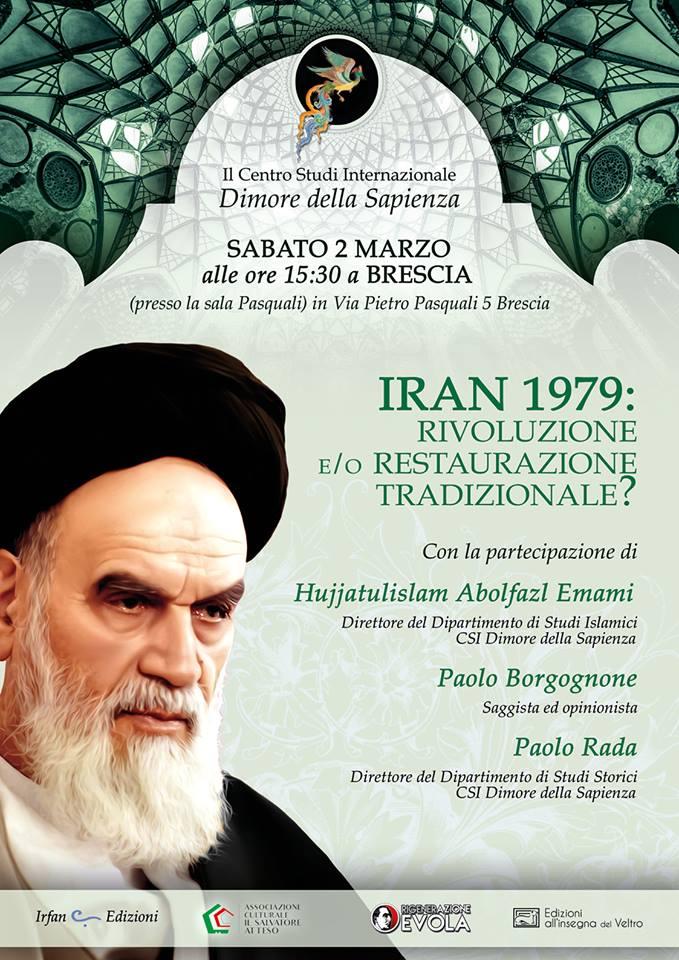 Iran 1979 : rivoluzione e/o restaurazione tradizionale ?